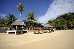 walk from Coco plage lodge straight ontto this gorgeous beach