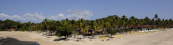 A resort offering all inclusive packages suitible for the young and active Andalina beach resort Nnosy Be Madagascar
