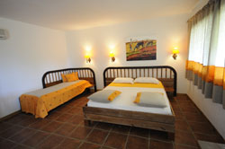 Comforatable simple rooms at Orangea club Madagascar
